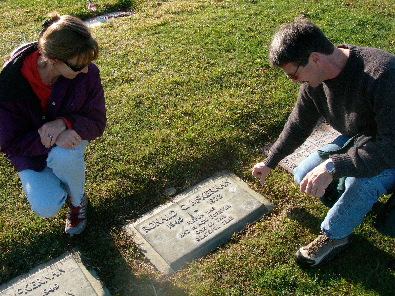 Pigpen McKernan gravestone in Alta Mesa Memorial Park