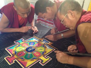 Monks mandala