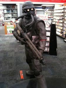 Killzone statue University Ave