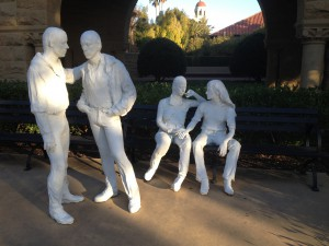 Segal gay sculpture Stanford