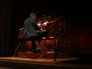 Stanford theater organist